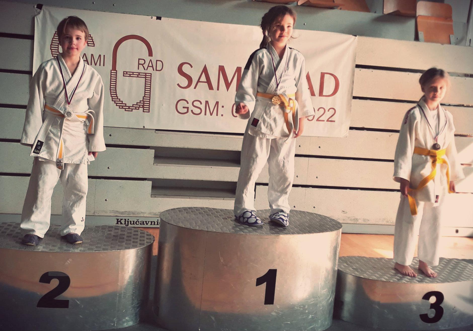 judoista judo kluba bela krajina-na Pokalu Novo mesto 2019, osvoji 2. mesto