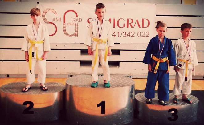judoist judo kluba bela krajina-na pokalu novega mesta osvoji 2. mesto
