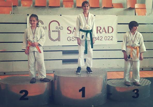 judoistka judo kluba bela krajina osvoji 1. mesto