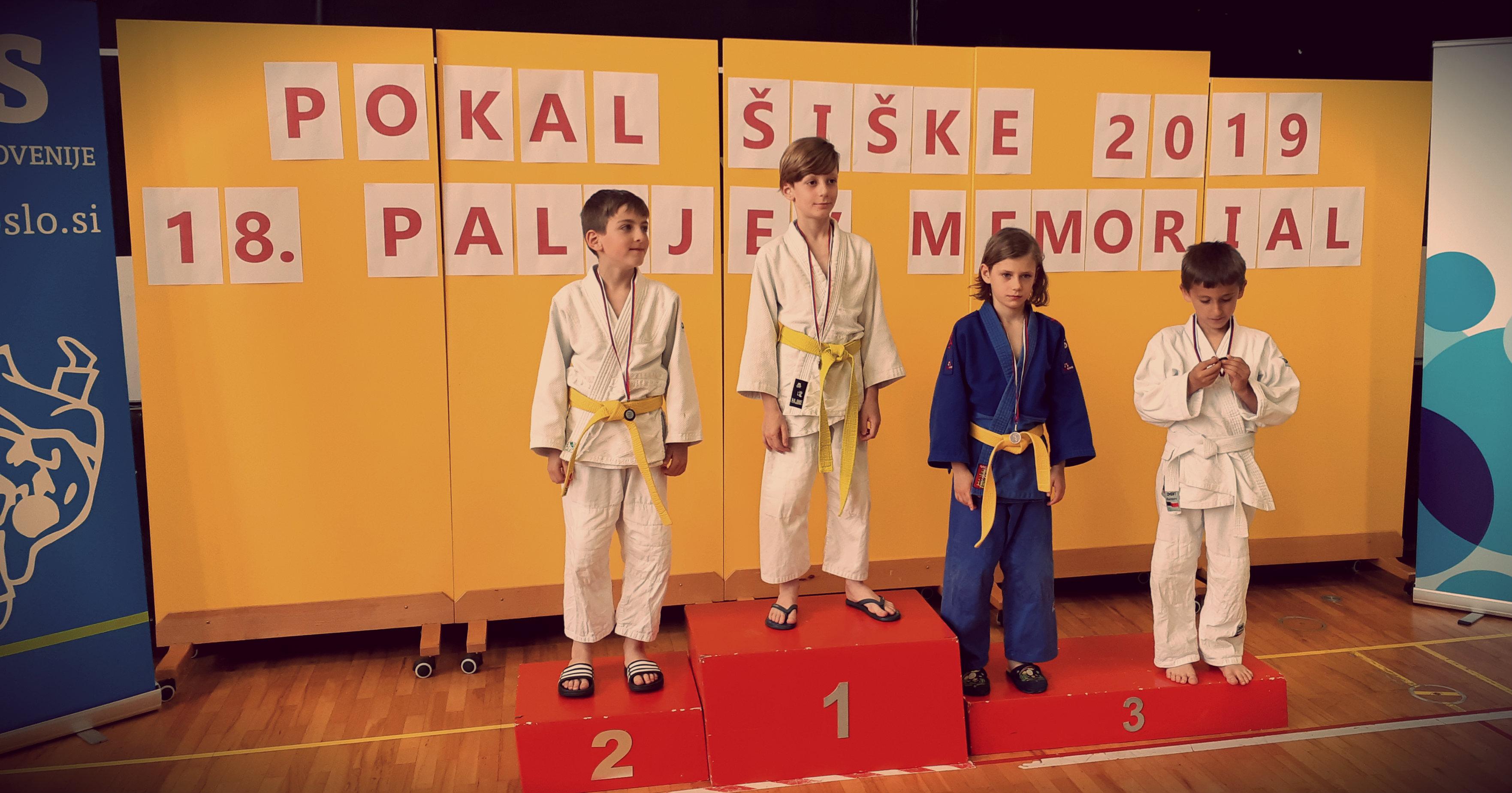 judoist judo kluba bela krajina-šterk-na Pokalu Šiške 2019-osvojil 1. mesto