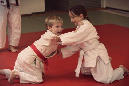 judo trening-judo klub bela krajina
