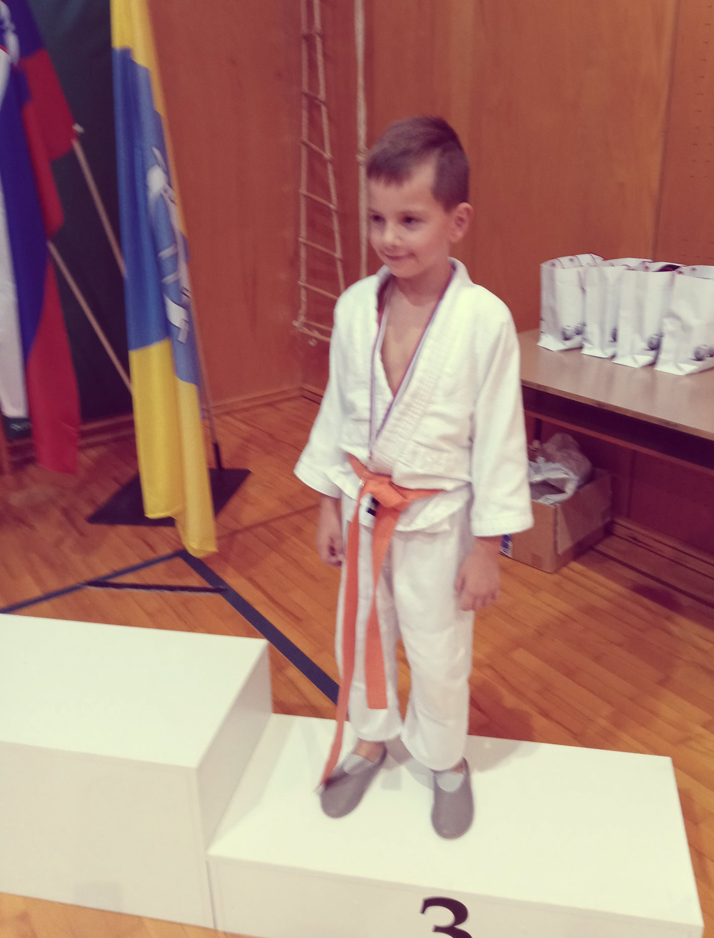 Miha z judo kluba bela krajina osviji 3. mesto