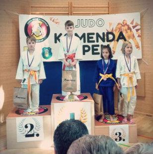 judoistka Zarja Kavčič judo kluba bela krajina osvoji 2. mesto