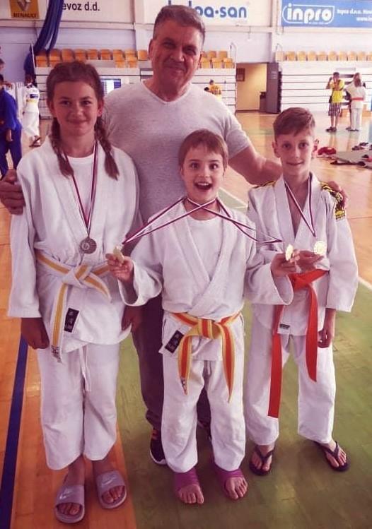 judo klub bela krajina na tekmovanju v Novem mestu